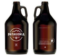 GROWLER PATAGONIA + Recarga 1.9 lt de witbeer