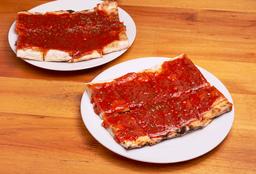 Porción Pizza con Salsa x 2