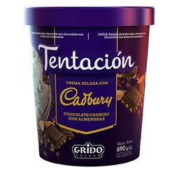 Tentación Cadbury Chocolate Almendras 1 L