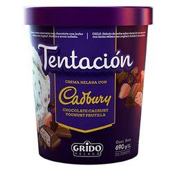 Tentación Cadbury Yoghurt Frutilla 1 L