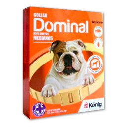 Collar Antipulgas Dominal Para Perros Medianos 1 U