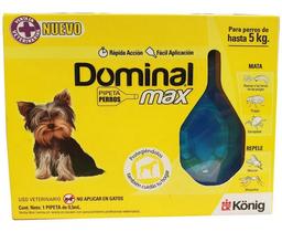 Pipeta Repelente Dominal Max Para Perros de Hasta 5 Kilos 1 U