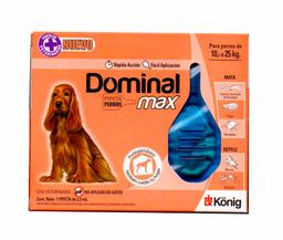 Pipeta Repelente Dominal Max Para Perros de 10 a 25 Kilos 1 U