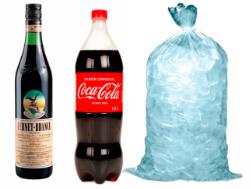 Fernet Branca Litro + Coca Cola 1,5 Litro + Hielo bolsa 3 kilos