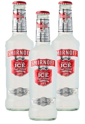 Smirnoff ice 275 mL x3 unidades!