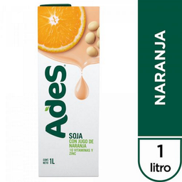 Jugo Ades Naranja 1 L