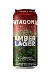 Cerveza Patagonia Amber Lager Lata