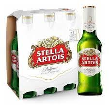 Cerveza Stella Artois 330 Ml x 6 unidades