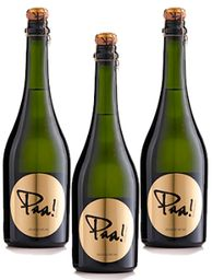 Champaña Paa! Extra Brut 750 Ml x 3