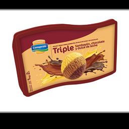 Helado  sambayon/dulce/chocolate 2l