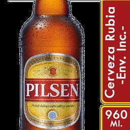 Cerveza Pilsen Botella 960 mL