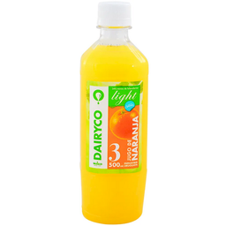 Jugo Dairyco 3 Light Naranja 500 mL