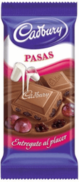 Chocolate Cadbury Pasas 170 g