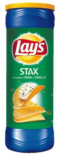 Papas Lays Stax Cebolla 156 g