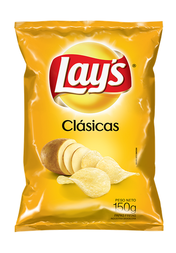 Papas Lay's Clasicas