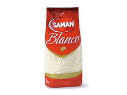 Arroz Saman Blanco 1 Kg