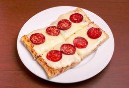Pizza Muzzarella + 2 Gustos
