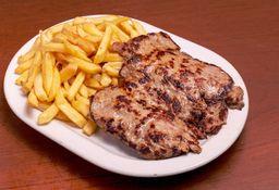 Filet de Carne con Guarnición