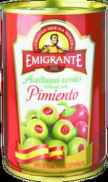 Aceitunas Rellenas Emigrante Con Pimiento Lata 240 g