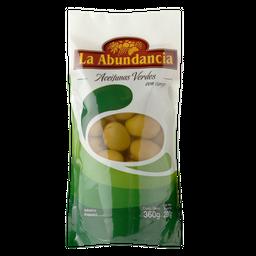 Aceitunas La Abundancia Con Carozo 200 g