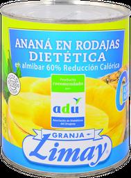 Ananá Limay en Rodajas Dietética 825 g