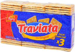 Galletas Bagley Traviata 101 g x 3