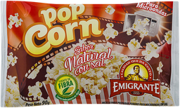 Popcorn Emigrante Natural 90 g