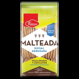 Galletas Famosa Malteada Sin Sal 300 g