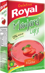 Gelatina Royal Frutilla Light 25 g
