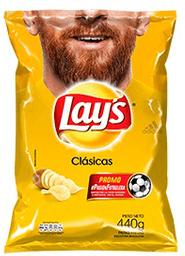 Snack Lays Clásicas 440 g