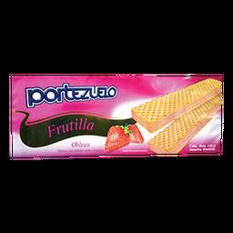 Portezuelo Oblea Frutilla