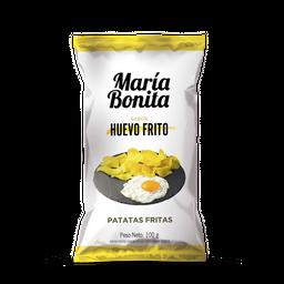 Snack Papas María Bonita Sabor Huevo Frito 100 g