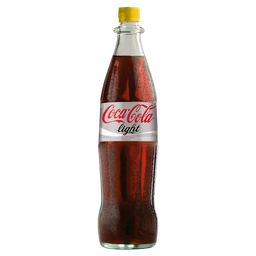 Refresco Coca Cola Light Retornable de Vidrio 1 L