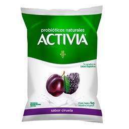 Yogur Activia Sabor Ciruela Probióticos Naturales 1 Kg