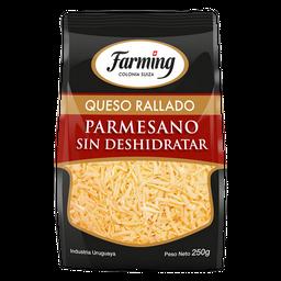 Queso Farming Rallado Parmesano Sin Deshidratar 250 g