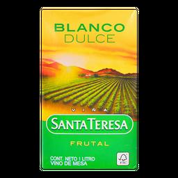 Vino Blanco Santa Teresa Dulce Frutal 1 L