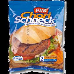 Hamburguesa Chori Schneck Sabor a Chorizo 2U