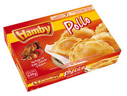 Empanada Hamby Pollo 9 U
