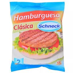 Hamburguesa Schneck Clásica 2 U
