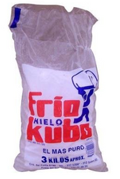 Hielo Frio Kubo 3 Kg