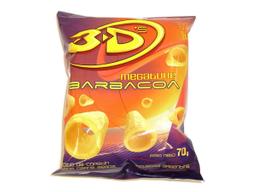 3 Ds Megatube Snack Megafono Barbacoa Bl