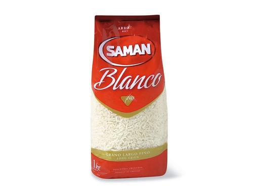 Saman Arroz Blanco
