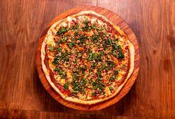 Pizzeta con Panceta y Pesto - 42 cm