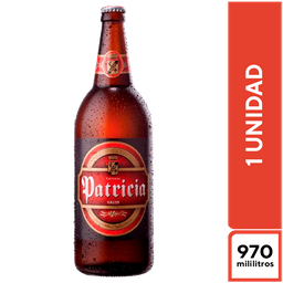 Cerveza Patricia - 970 ml