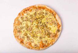 Pizzeta con Muzzarella y Aceitunas - 35cm