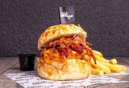 Armá tu Doble Cheeseburger + Fritas