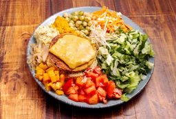 Hamburguesa de Falafel al Plato