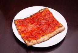 Pizza con Salsa