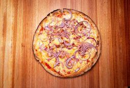 Pizza Crispy Panceta y Cebolla
