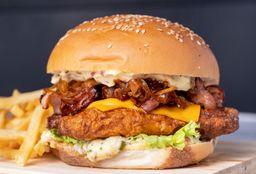 Hamburguesa Crunch